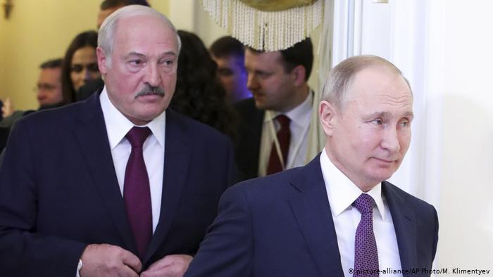 Путин предложил компенсировать Белоруссии $300 млн за пошлины на нефть