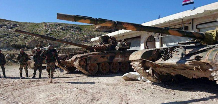 Турецкие военные обстреляли объекты правительственных войск Сирии