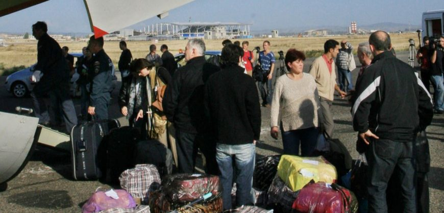 Россия выставила условия для выплаты 10 млн евро за депортацию грузин в 2006 году