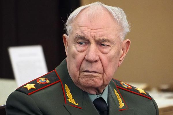 Умер министр обороны СССР, участник ГКЧП, маршал Советского Союза Дмитрий Язов