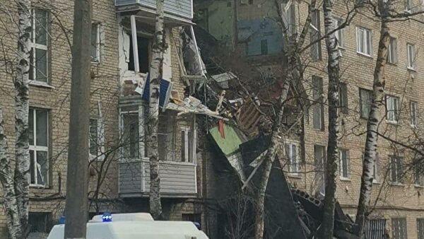 В Орехово-Зуево произошел взрыв газа в пятиэтажке, есть пострадавшие