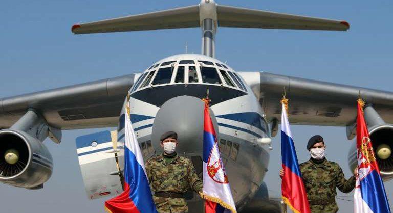 Россия отправила в Сербию 11 самолетов ВКС с помощью в борьбе с коронавирусом