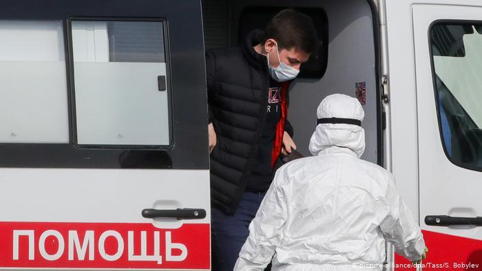 В России за сутки коронавирусом заразились 954 человека