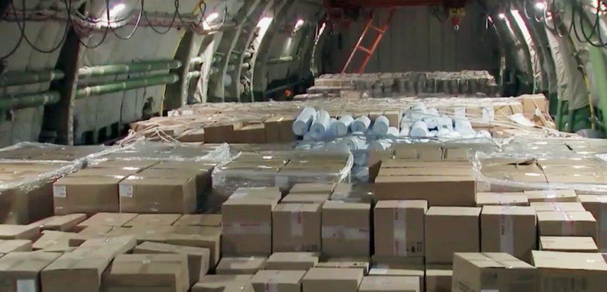 США заявили об оплате гуманитарной помощи с медоборудованием из России