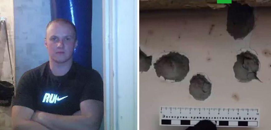 В Рязанской области мужчина расстрелял пятерых человек, громко разговаривавших под его окнами