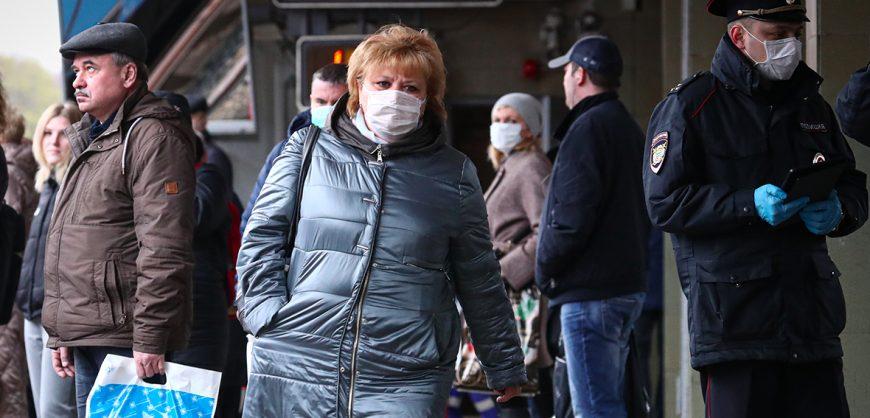 В России за сутки выявлено более 9 тысяч новых случаев коронавируса