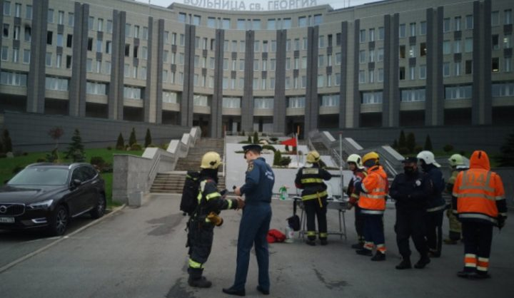 В петербургской больнице при пожаре погибли пять больных, подключенных к ИВЛ