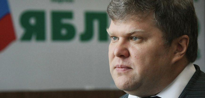 Депутата Сергея Митрохина задержали за пикет в поддержку журналиста Ильи Азара