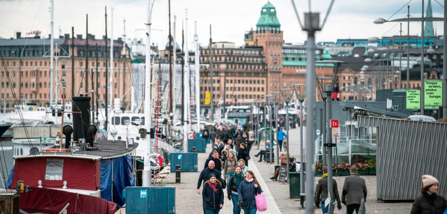 Bloomberg: в Швеции экономический спад и рост безработицы, несмотря на отказ от карантина
