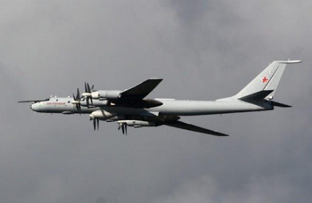 Российские Ту-142 совершили 12-часовой полет над Тихим океаном