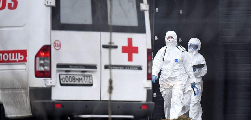 В России за сутки выявлено 8599 новых случаев заражения коронавирусом