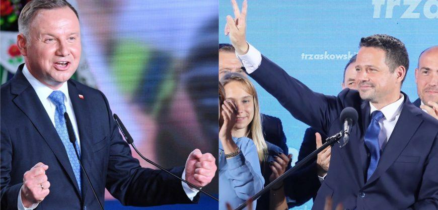 В Польше лидером первого тура выборов стал действующий глава государства Анджей Дуда