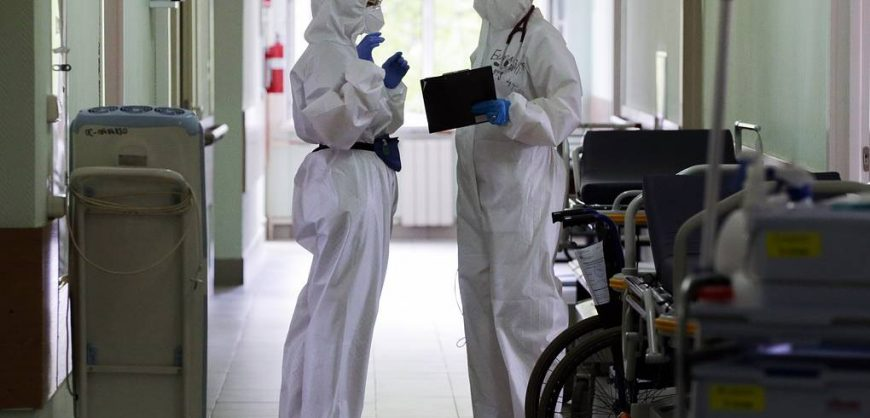 В России вновь больше 9 тысяч новых случаев короновируса за сутки