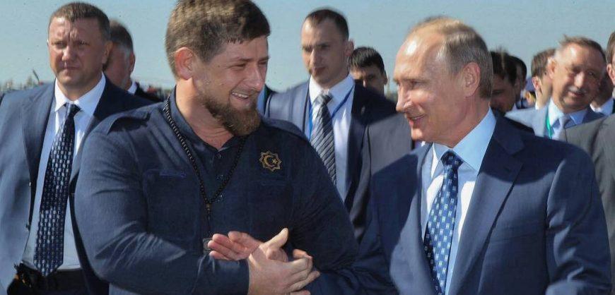 Кадыров призвал избрать Путина президентом пожизненно