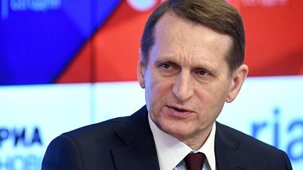 Глава СВР отверг связь дела Сафронова с его профессиональной деятельностью