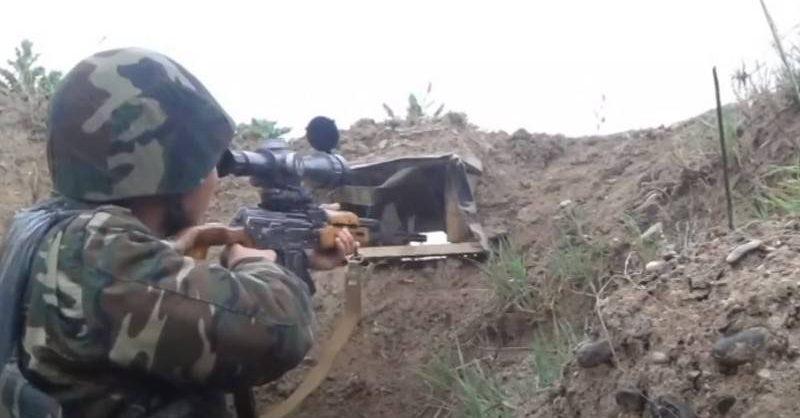 На границе Армении и Азербайджана возобновились бои