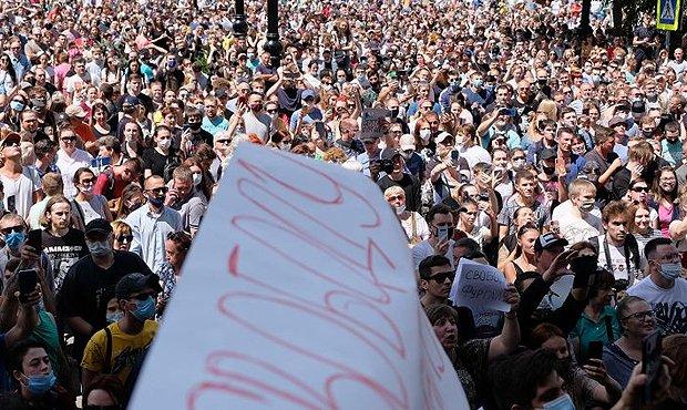 В Кремле назвали «эмоционально резонансной ситуацией» стихийные митинги в Хабаровске