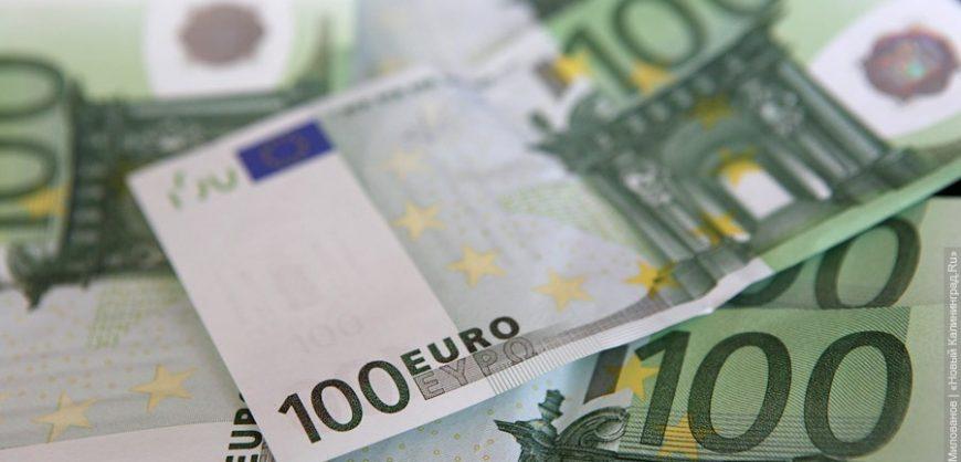 Курс евро впервые с апреля првысил 84 рубля