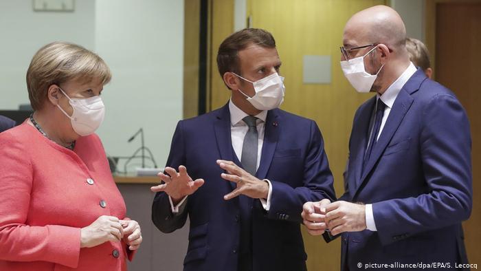 Лидеры Евросоюза согласовали план по восстановлению экономики объемом €750 млрд
