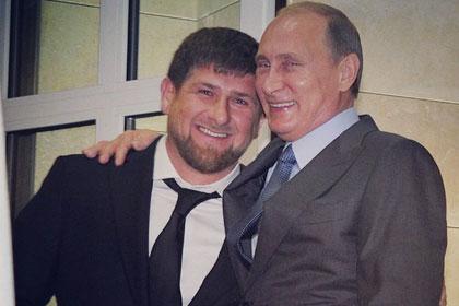 Путин присвоил Кадырову звание генерал-майора и перевел в Росгвардию
