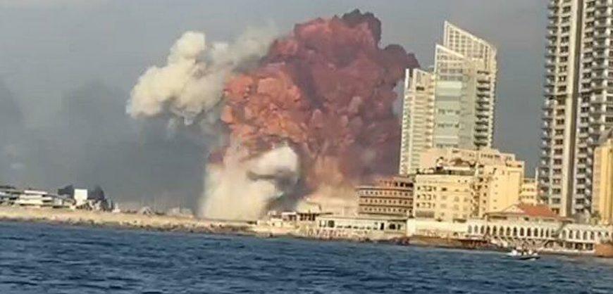 В результате взрыва в Бейруте погибли 50 человек, около 2,7 тысяч ранены