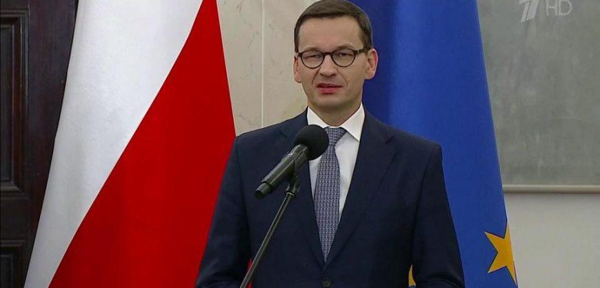 Польский премьер объяснил опасность «Северного потока-2» для Украины и Европы
