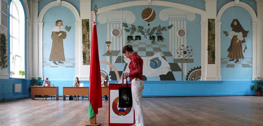 Выборы в Белоруссии признаны состоявшимися