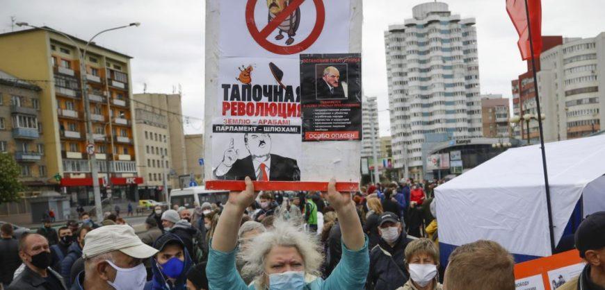 Лукашенко назвал белорусов «овцами», а прошедшие выборы — «праздником»