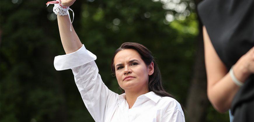 Тихановская призвала мэров белорусских городов организовывать мирные протесты