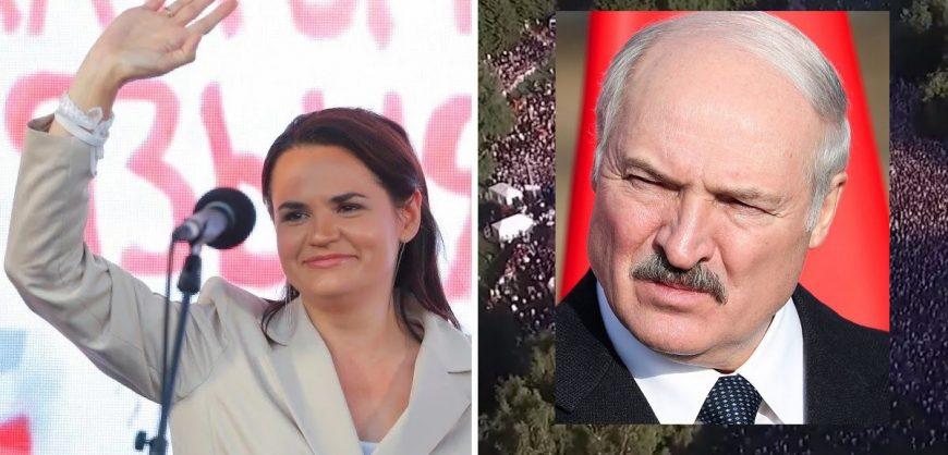 Тихановская попросила Меркель призвать Лукашенко к справедливым выборам