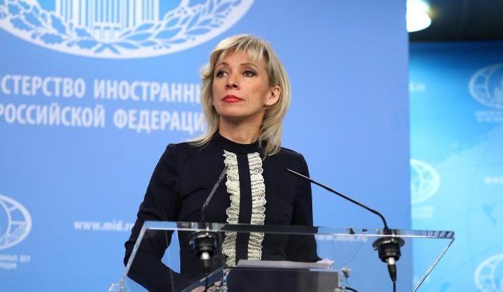 Захарова заявила об «иностранном вмешательстве» в ситуацию в Белоруссии