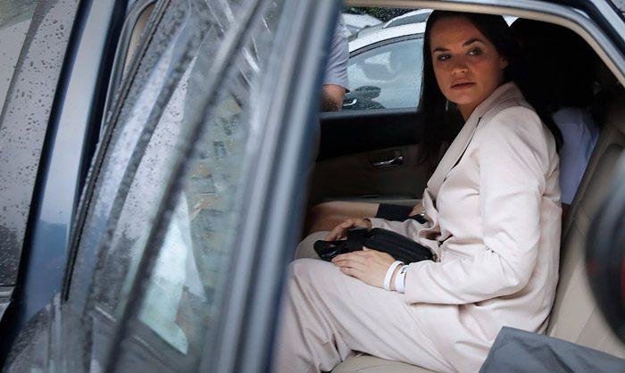 Тихановская покинула Белоруссию в целях безопасности