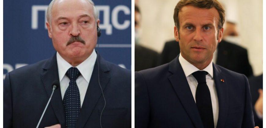 Макрон восхитился белорусами и призвал Лукашенко добровольно покинуть пост президента