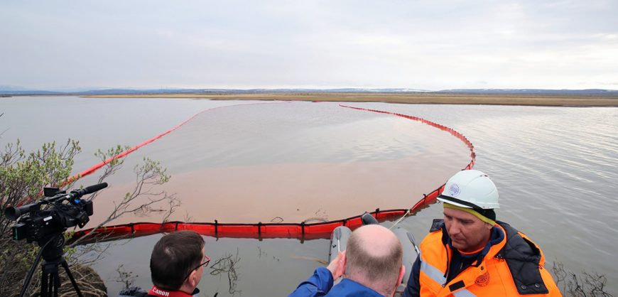 Росприроднадзор подал иск к «Норникелю» на 148 млрд рублей из-за разлива топлива в мае