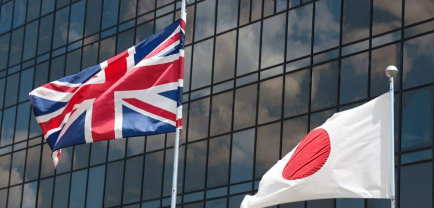 Великобритания и Япония заключили соглашение о свободной торговле