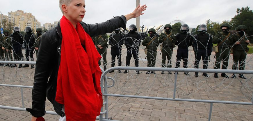 Марию Колесникову обвинили в «причинении вреда национальной безопасности» Белоруссии