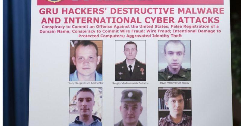 В США предъявили обвинения шести россиянам за кибератаки «для стратегической выгоды России»
