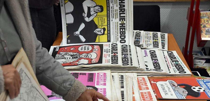 Charlie Hebdo поместил на обложкукарикатуруна Эрдогана