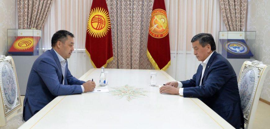 Премьер Киргизии Жапаров заявил о переходе к нему президентских полномочий