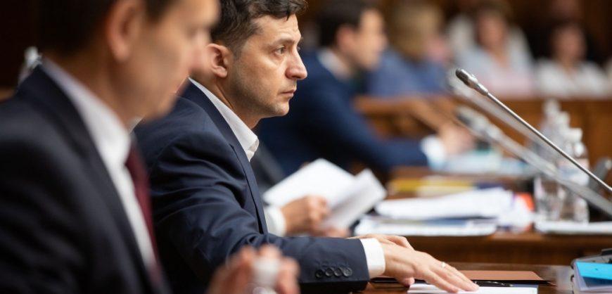 Зеленский созвал заседание СНБО из-за отмены Конституционным судом антикоррупционных норм