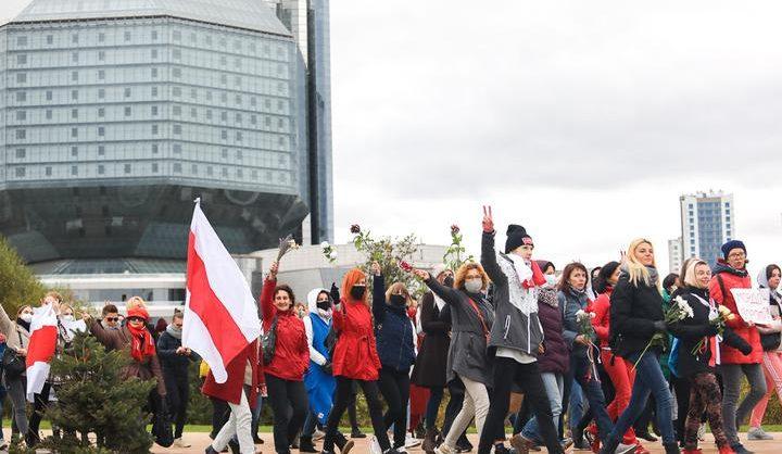 В ходе протестного марша студентов в Минске задержаны около сорока человек