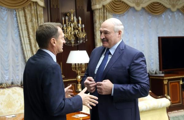 Глава Службы внешней разведки РФ встретился с Лукашенко в Минске
