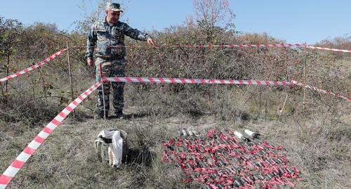 Азербайджан обвинили в использовании кассетных бомб против мирного населения