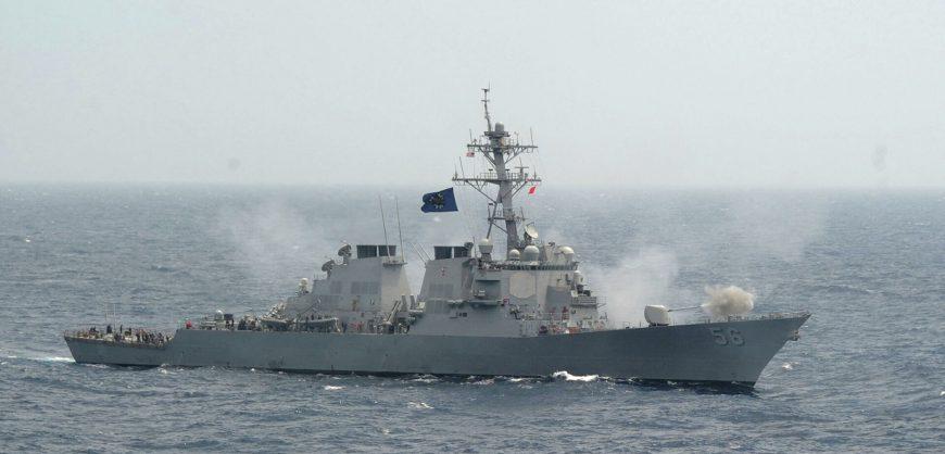 Минобороны сообщило о нарушении американским миноносцем морских границ России