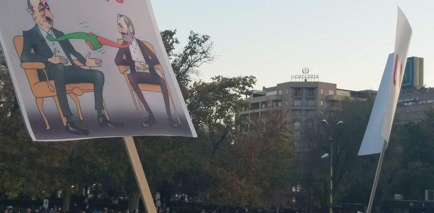В Ереване в день визита российской делегации прошел митинг оппозиции с требованием отставки Пашиняна