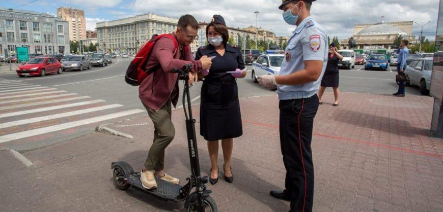 В России хотят ограничить допустимую скорость электросамокатов