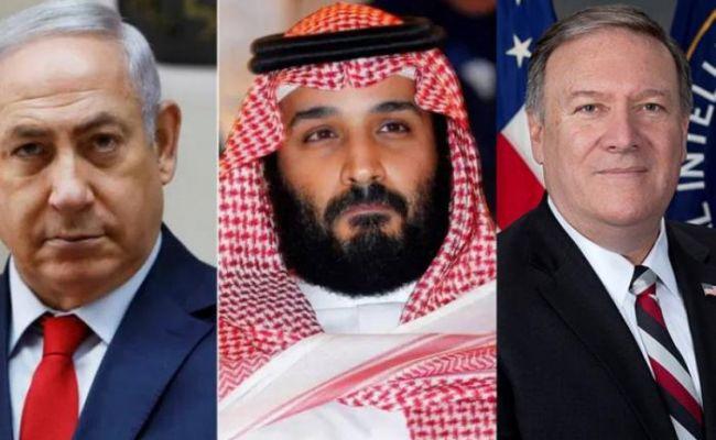 Премьер Израиля при посредничестве США провёл тайные переговоры с наследным принцем Саудовской Аравии