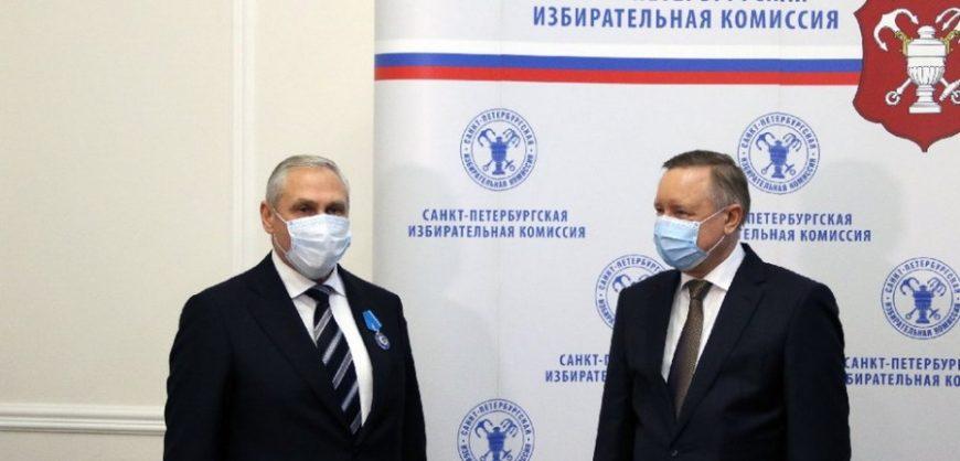 Председатель петербургского горизбиркома награждён и отставлен