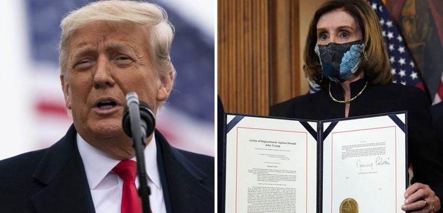 Нижняя палата конгресса США объявила импичмент Трампу