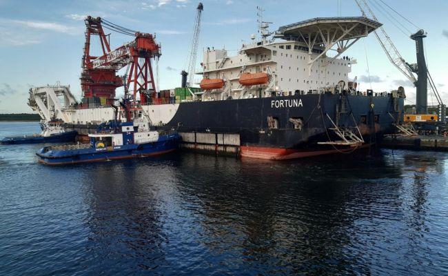 США ввели санкции против российского судна-трубоукладчика «Северного потока — 2»